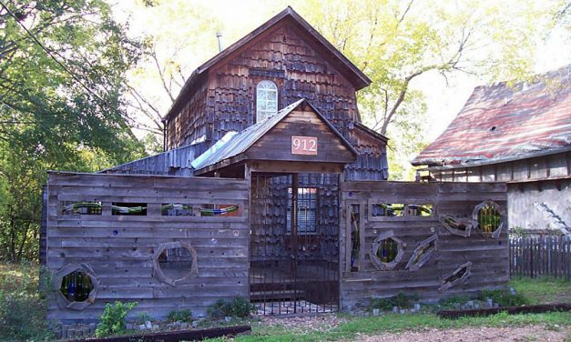12 Unique Houses Built From Reclaimed Materials