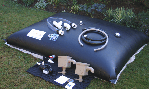 The Rainwater Pillow Water Harvesting System