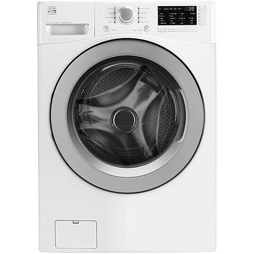 Photo of KENMORE 41162 4.3 CU. FT. FRONT-LOAD WASHER - energy efficient laundry appliances on elemental green