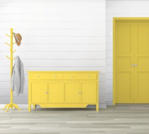 BUTTER recolor chalk HALLWAY Recolor Recycled Paint Yellow